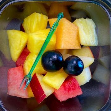 macedonia di frutta pronta