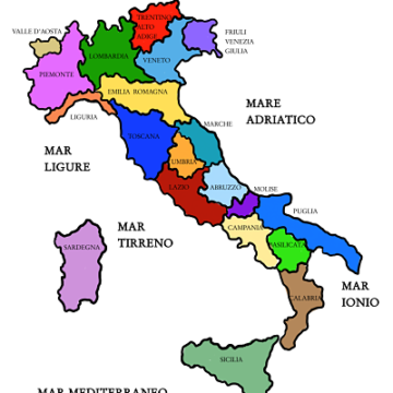 Vini per Regione