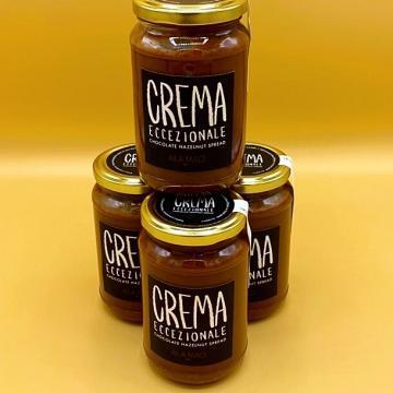 crema eccezionale al cacao e alla nocciola alajmo