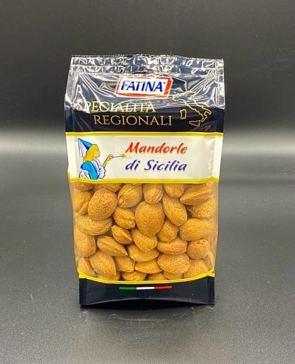 Mandorle di Sicilia in guscio 500gr