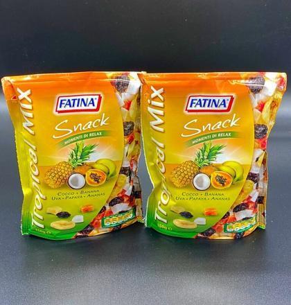 tropical mix snack di frutta 150gr