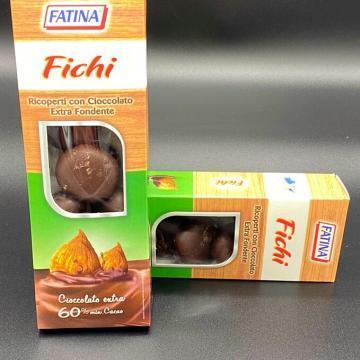 fichi ricoperti al cioccolato extra fondente 180gr
