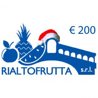 ragala una spesa gift card rialtofrutta 200€