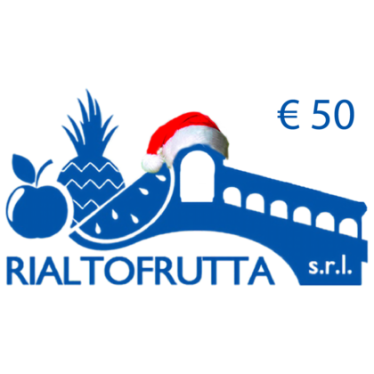 ragala una spesa gift card rialtofrutta 50€