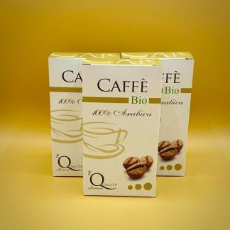 caffè biologico 100% arabica moka