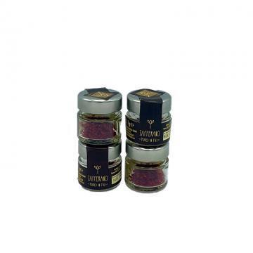 zafferano in fili della sardegna prodotto in italia